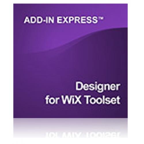 Designer for WiX Toolset
