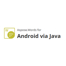Aspose.Words  for Android via Java