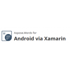 Aspose.Words  for Android via Xamarin