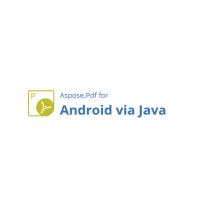 Aspose.Pdf for Android via Java