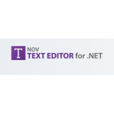 NOV Rich Text Editor for .NET